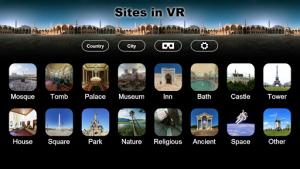 Sites in VR